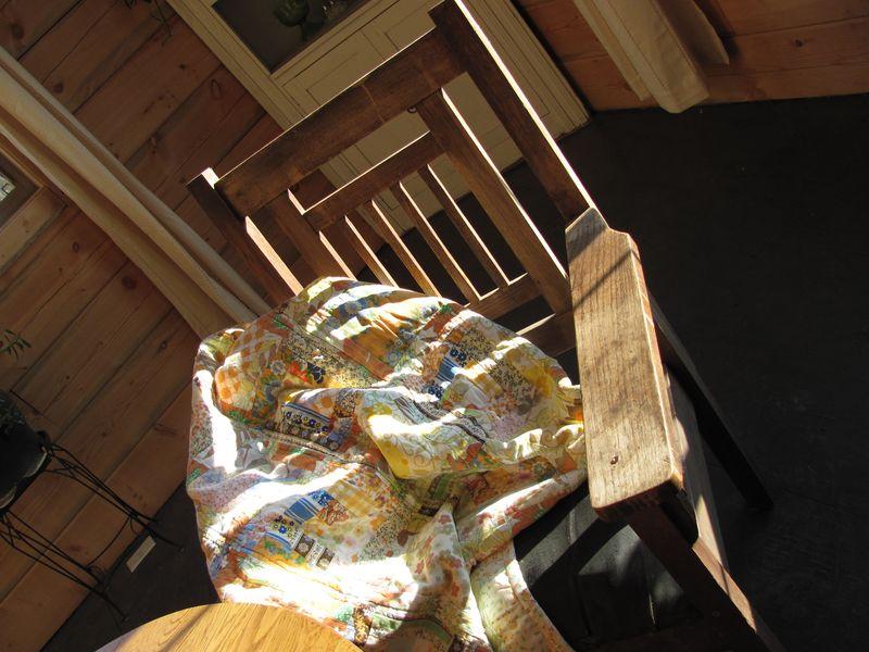 Quilt sun chair