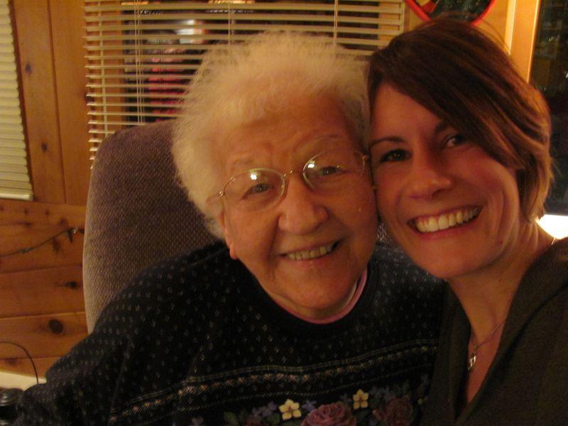 E and Grandma