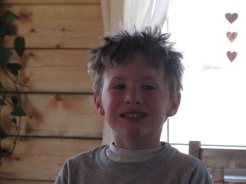 Crazy hair isaac